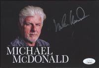 Michael McDonald Signed 5.5x8 Photo (JSA COA) at PristineAuction.com