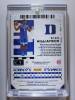 Zion Williamson 2020-21 Panini Contenders Draft Picks Legacy Ticket Autographs Prospect Ticket #13 at PristineAuction.com