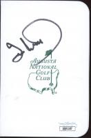 Ian Woosnam Signed Augusta National Golf Club Score Card (JSA COA) at PristineAuction.com