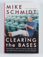 """Mike Schmidt Signed """"Clearing the Bases"""" Hardcover Book (JSA COA) at PristineAuction.com"""