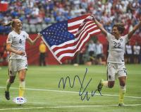Meghan Klingenberg Signed Team USA 8x10 Photo (PSA COA) at PristineAuction.com
