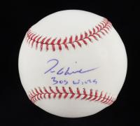 "Tom Glavine Signed OML Baseball Inscribed ""305 Wins"" (JSA COA) at PristineAuction.com"