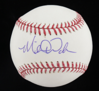 "Michael Wacha Signed OML Baseball Inscribed ""#1 DP 2012"" (JSA COA) at PristineAuction.com"
