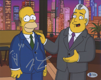 """Jay Leno Signed """"The Simpsons"""" 8x10 Photo Inscribed """"Yo!"""" (Beckett COA) at PristineAuction.com"""