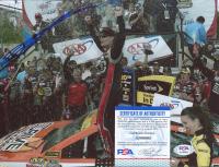 Jeff Gordon Signed NASCAR 8x10 Photo (PSA COA) at PristineAuction.com