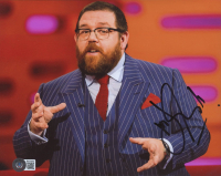 Nick Frost Signed 8x10 Photo (Beckett COA) at PristineAuction.com
