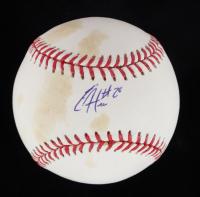 Eric Hosmer Signed OML Baseball (JSA COA) at PristineAuction.com