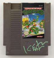 Kevin Eastman Signed Original 1989 Teenage Mutant Ninja Turtles Nintendo NES Video Game Cartridge (PA COA) at PristineAuction.com