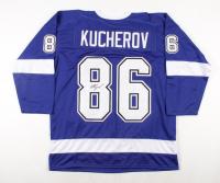 Nikita Kucherov Signed Jersey (JSA COA) (See Description) at PristineAuction.com