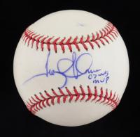 "Troy Glaus Signed OML Baseball ""02 WS MVP"" (JSA COA) at PristineAuction.com"