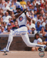 """Andre Dawson Signed Cubs 8x10 Photo Inscribed """"HOF 2010"""" (Beckett COA) at PristineAuction.com"""