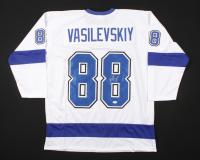 Andrei Vasilevskiy Signed Jersey (JSA COA) (See Description) at PristineAuction.com
