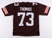 Joe Thomas Signed Jersey (Schwartz COA) at PristineAuction.com