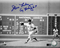 """Jim Lonborg Signed Red Sox 8x10 Photo Inscribed """"Cy Young 67"""" (AIV COA) at PristineAuction.com"""