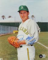 "Jim ""Catfish"" Hunter Signed Athletics 8x10 Photo (Beckett COA) at PristineAuction.com"