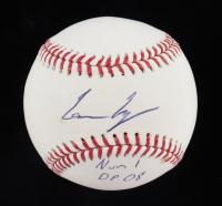 "Lance Lynn Signed OML Baseball Inscribed ""Num 1 DP 08"" (JSA COA) at PristineAuction.com"