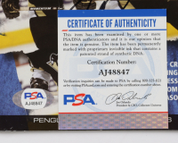 """Sidney Crosby Signed Penguins """"Ice Time"""" Official Game Program (PSA COA) at PristineAuction.com"""
