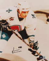 Kevin Kaminski Signed Nordiques 8x10 Photo (Beckett COA) at PristineAuction.com