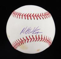 Matt Wieters Signed OML Baseball (JSA COA) at PristineAuction.com