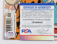 "Jeff Bergman Signed 1994 ""The Flintstones"" Double Vision Comic Book Inscribed ""Yabba Dabba Doo!!"" (PSA COA) at PristineAuction.com"