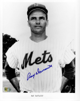 Ray Daviault Signed Mets 8x10 Photo (AIV COA) at PristineAuction.com