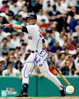 """Scott Cooper Signed Red Sox 8x10 Photo Inscribed """"90-94"""" (AIV COA) at PristineAuction.com"""