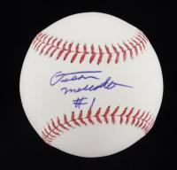 Oscar Mercado Signed OML Baseball (JSA COA) at PristineAuction.com