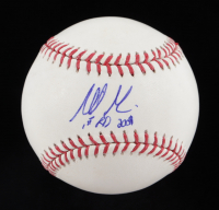 "Mike Minor Signed OML Baseball Inscribed ""1st RD 2009""  (JSA COA) at PristineAuction.com"