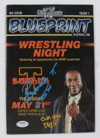 "Booker T Signed ""Blueprint"" Magazine (PSA COA) at PristineAuction.com"