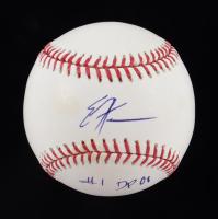"Eric Hosmer Signed OML Baseball Inscribed ""#1 DP 08"" (JSA COA) at PristineAuction.com"