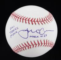 "James McCann Signed OML Baseball Inscribed ""2011 Tigers 1st Pick"" (JSA COA) at PristineAuction.com"