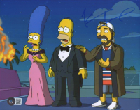 """Kevin Smith Signed """"Simpsons"""" 8x10 Photo (Beckett COA) at PristineAuction.com"""