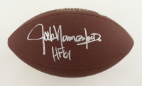 """Jack Youngblood Signed NFL Football Inscribed """"HF 01"""" (Schwartz Sports COA) at PristineAuction.com"""