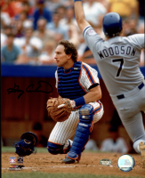 Gary Carter Signed Mets 8x10 Photo (Schwartz Sports COA) at PristineAuction.com