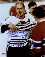 "Bobby Hull Signed Blackhawks 8x10 Photo Inscribed ""HOF 1983"" (Schwartz COA) at PristineAuction.com"