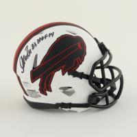 "Andre Reed Signed Bills Lunar Eclipse Alternate Speed Mini Helmet Inscribed ""HOF 14"" (Schwartz Sports COA) at PristineAuction.com"