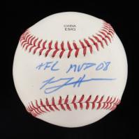 "Tommy Hanson Signed Little League Baseball Inscribed ""AFL MVP 08"" (JSA COA) at PristineAuction.com"