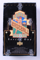 1993 Upper Deck Series 1 Baseball Hobby Box with (36) Packs at PristineAuction.com