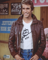 """Henry Winkler Signed """"Happy Days"""" 8x10 Photo Inscribed """"3/21"""" (Beckett COA) at PristineAuction.com"""