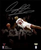 Dennis Rodman Signed Bulls 8x10 Photo (Schwartz Sports COA) at PristineAuction.com