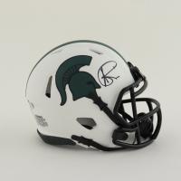 Andre Rison Signed Michigan State Spartans Lunar Eclipse Alternate Speed Mini Helmet (Schwartz Sports COA) at PristineAuction.com