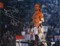 """Shawn Michaels Signed WWE 11x14 Photo Inscribed """"NBK"""" (PSA COA) at PristineAuction.com"""