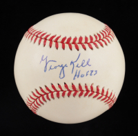 "George Kell Signed OAL Baseball Inscribed ""HOF 83"" (JSA COA) at PristineAuction.com"