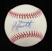 Mike Moustakas Signed OML Baseball (JSA COA) at PristineAuction.com