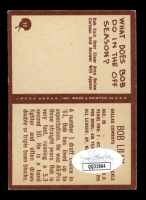 "Bob Lilly Signed 1967 Philadelphia #55 Inscribed ""HOF 80"" (JSA COA) (See Description) at PristineAuction.com"