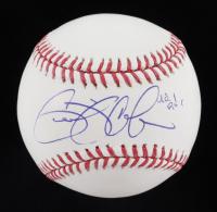 "Gerrit Cole Signed OML Baseball Inscribed ""Rd. 1 Pick"" (JSA COA) at PristineAuction.com"