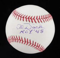 "Alvin Dark Signed OML Baseball Inscribed ""ROY 48"" (JSA COA) at PristineAuction.com"