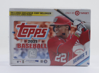 2021 Topps Series 1 Baseball Mega Box with (16) Packs at PristineAuction.com