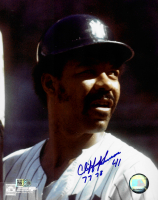 """Cliff Johnson Signed Yankees 8x10 Photo Inscribed """"77 78"""" (AIV COA) at PristineAuction.com"""