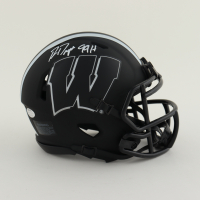 "Ron Dayne Signed Wisconsin Badgers Eclipse Alternate Speed Mini Helmet Inscribed ""99H"" (Schwartz Sports COA) at PristineAuction.com"